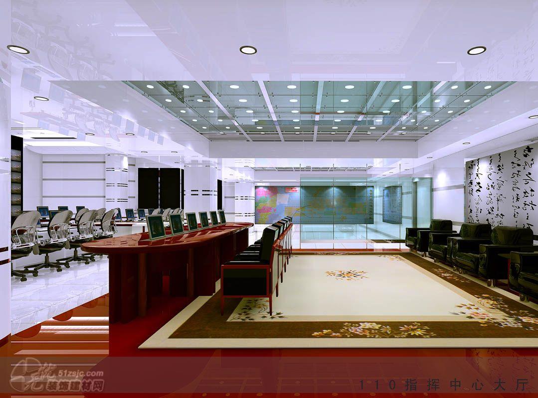 办公室装修效果图 济南文案装饰设计工程有限公司作品 效果图,实
